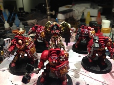 40k on the painting block