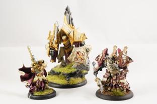 Protectorate of Menoth faction models (Privateer Press)