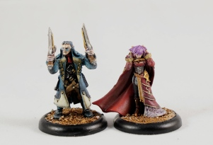 Aiyanna and Holt (Privateer Press)