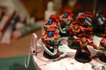 Blood Angels space marines (Warhammer 40k)