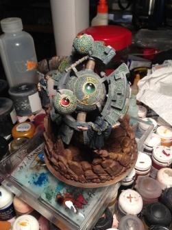 Circle battle engine