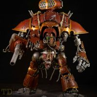 Imperial Knight 40k conversion