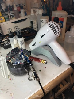 Three Reasons You Need an Hair Dryer for Miniature Painting (and other tips)